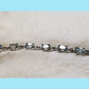 Jewelry - Swiss Blue Topaz Tennis Bracelet